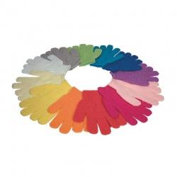 Gant de gommage, 12 couleurs