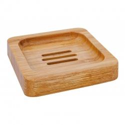 Porte savon carré en bambou