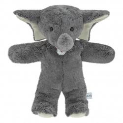Eléphant Roudoudou gris, 35 cm