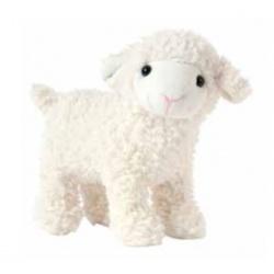 Bébé mouton ASTRAKAN blanc,...